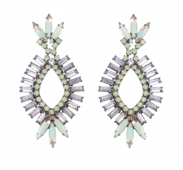 Navette Earrings by Elizabeth Cole