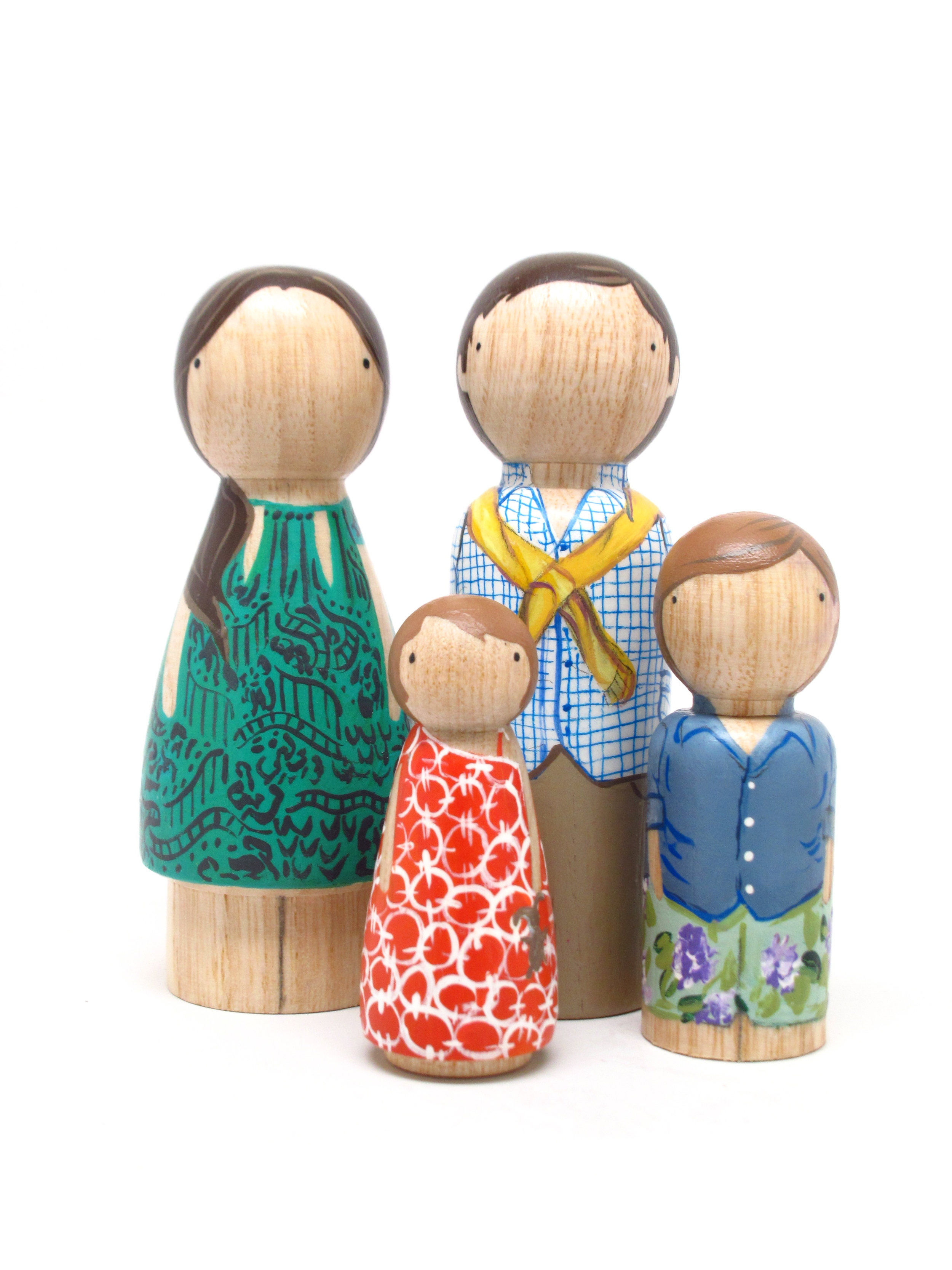 Goose Grease peg dolls