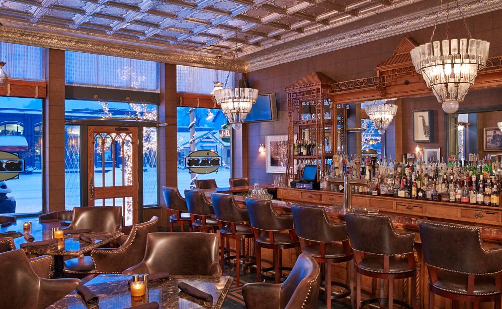 Bar at Hotel Jerome Aspen