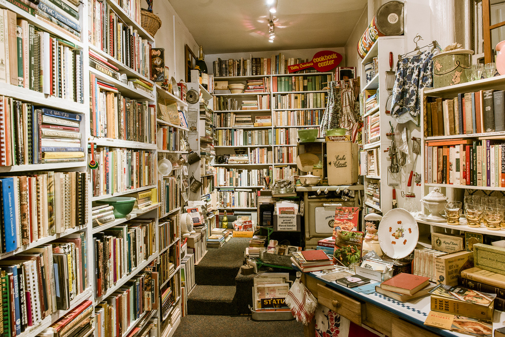 Bonnie Slotnick Cookbooks in Manhattan's West Village