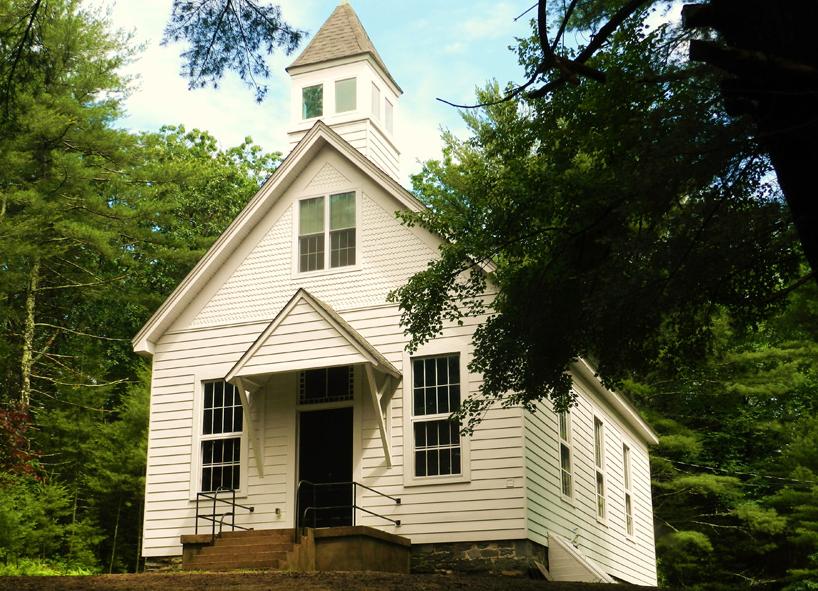 Hillside Schoolhouse in Barryville, New York