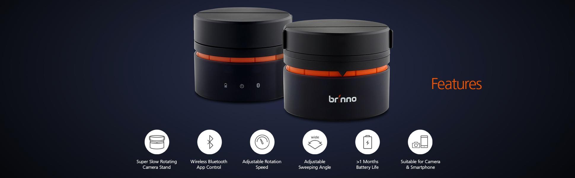 Brinno-ART200-Panning-Head-Features