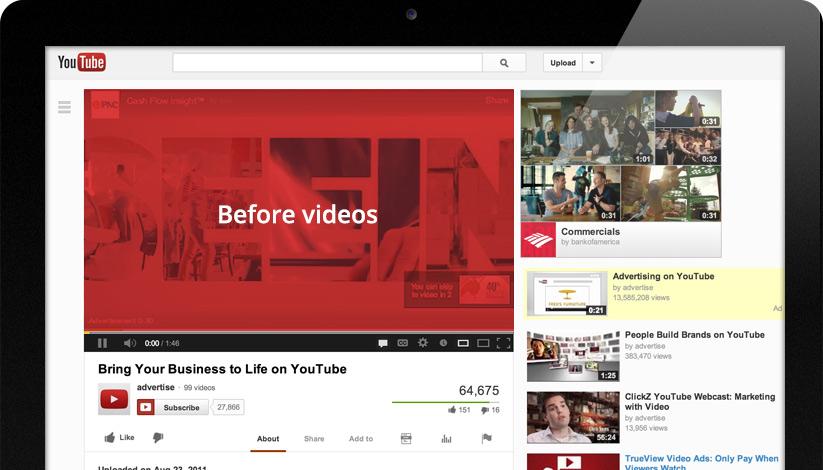 O Youtube permite às marcas impactarem uma audiência crescente