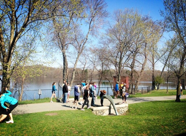 Fresh Pond race every Saturday morning!