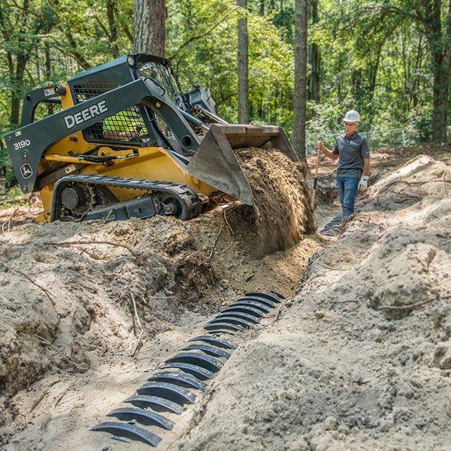 Leach Field Installation in Pinehurst NC