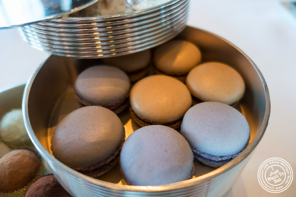 macarons at Per Se in New York, NY