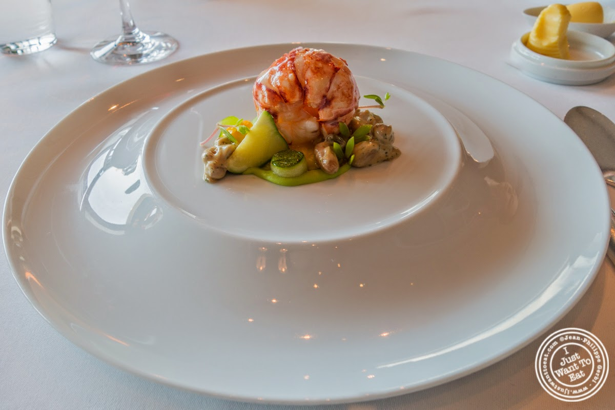 Butter poached Nova Scotia Lobster at Per Se in New York, NY