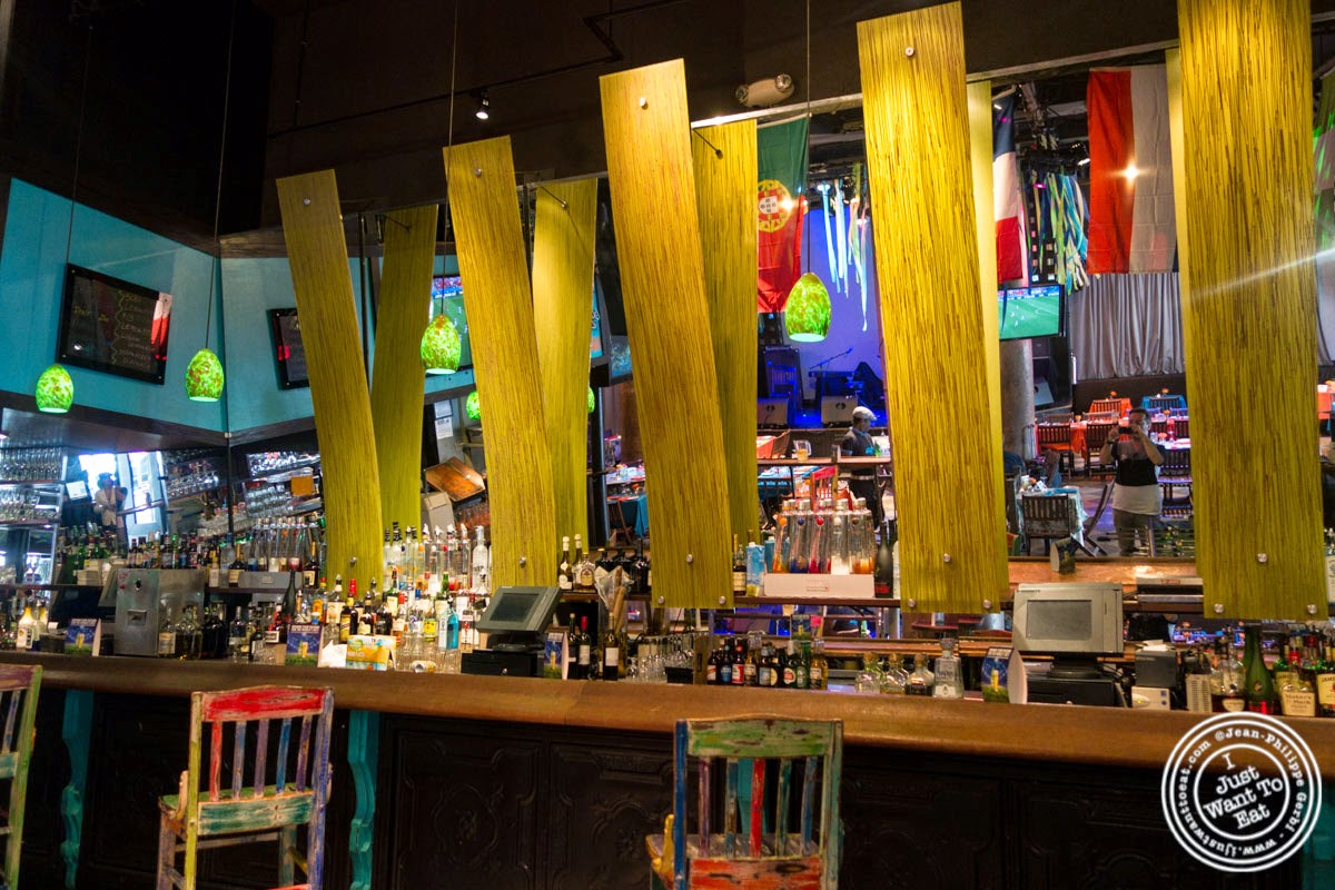 bar at Sounds Of Brazil SOB's in NY, New York