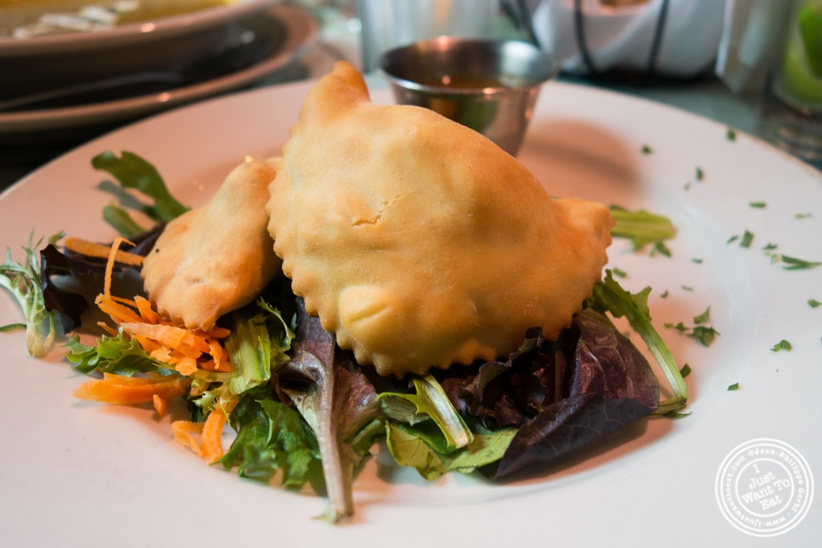 empanadas at Sounds Of Brazil SOB's in NY, New York