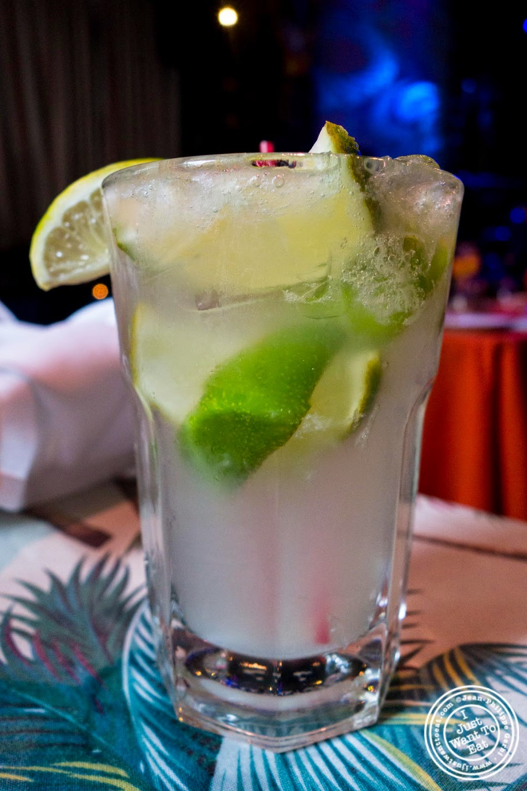 caipirinha at Sounds Of Brazil SOB's in NY, New York