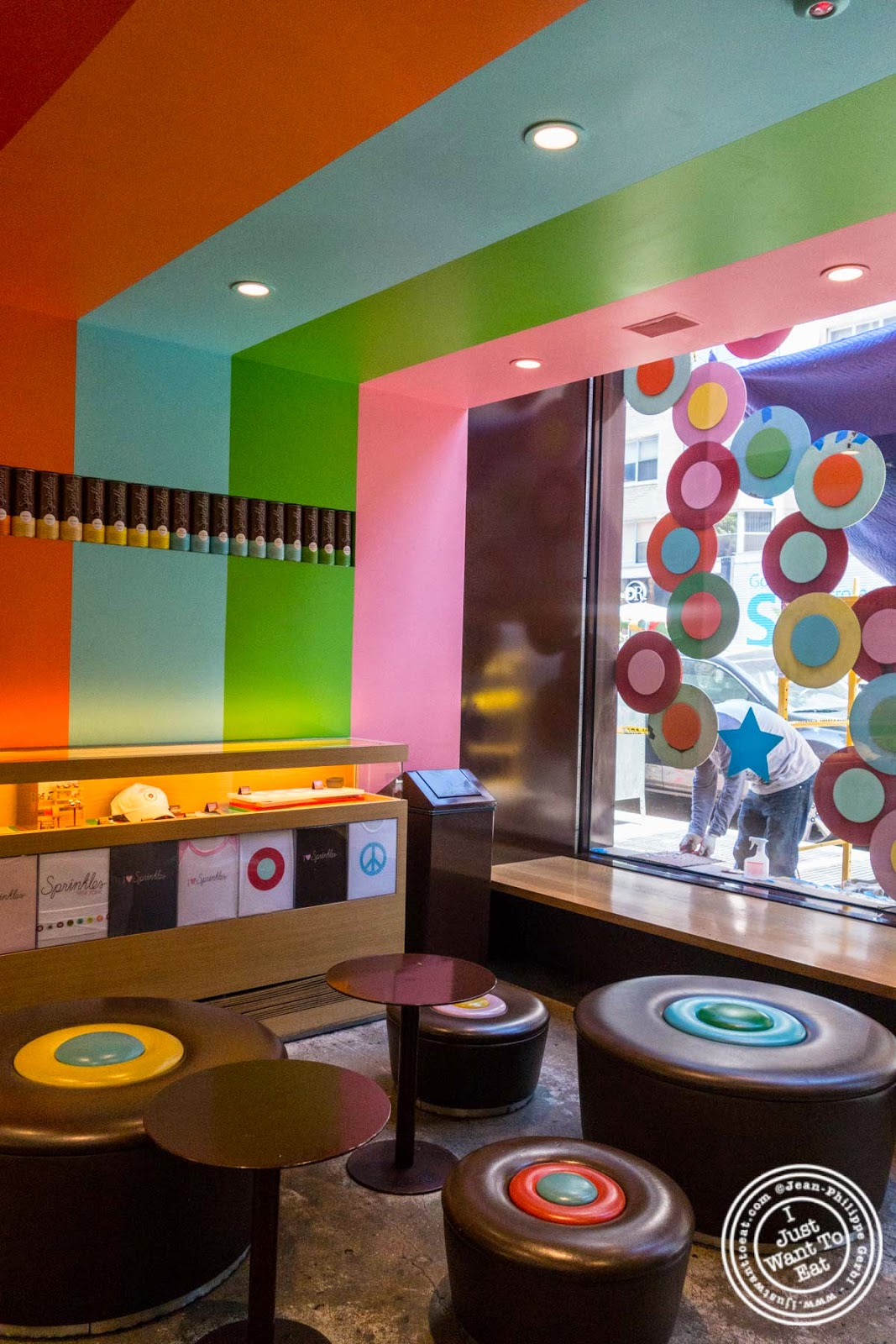 Decor at Sprinkles Cupcakes in New York, NY
