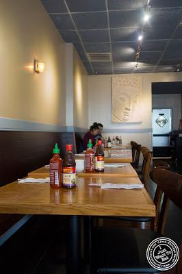 dining room at Pho Nomenon in Hoboken, NJ