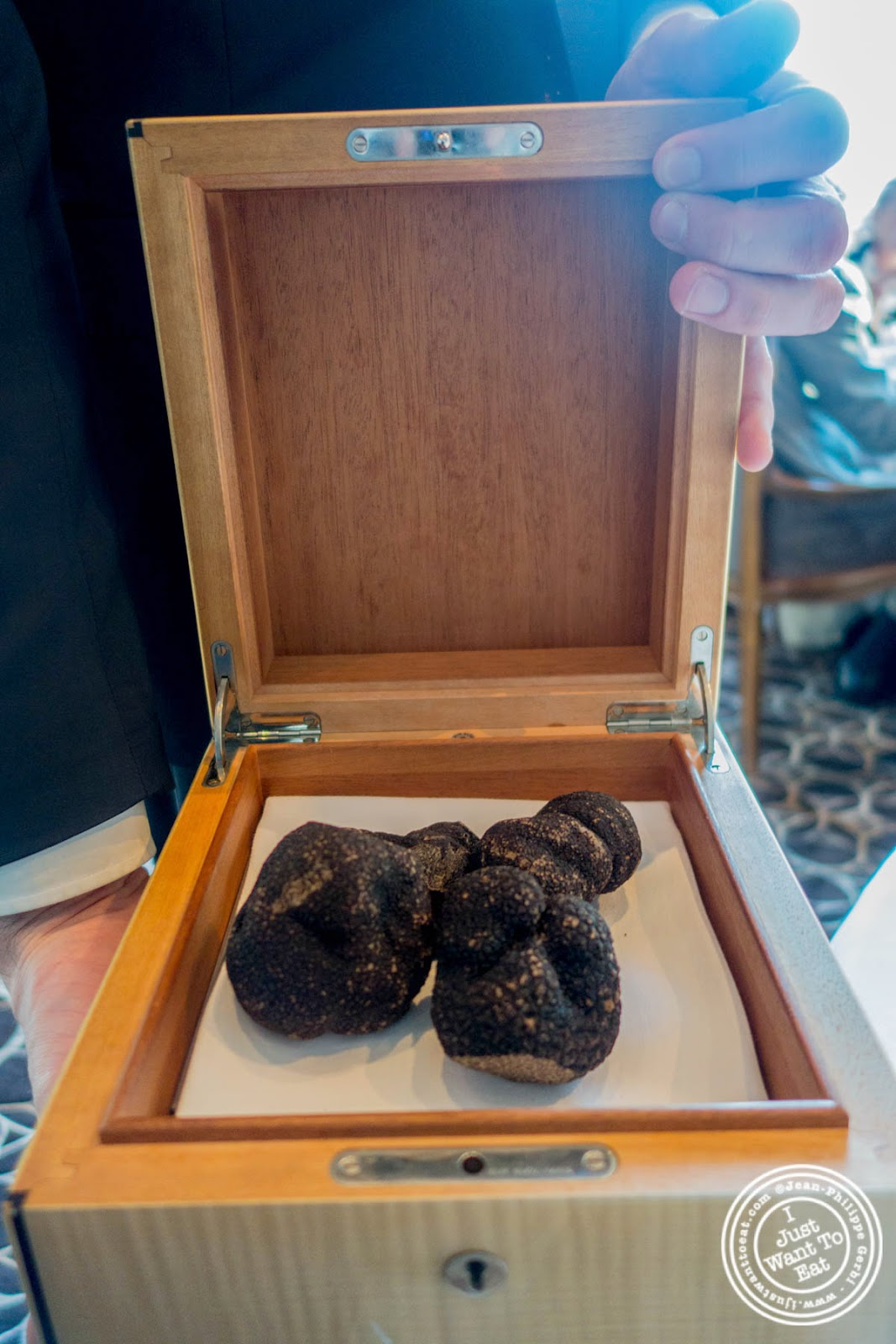 Australian black winter truffles at Per Se in New York, NY
