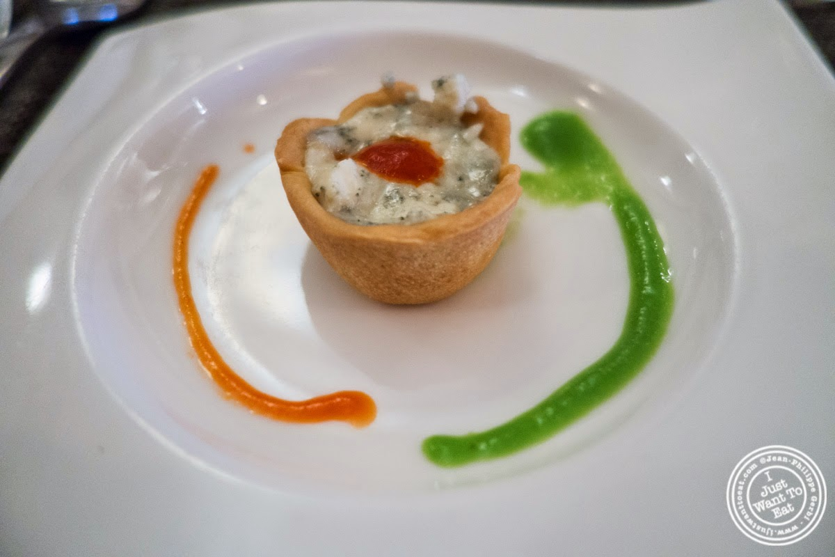amuse bouche at Paname, French restaurant in New York, NY