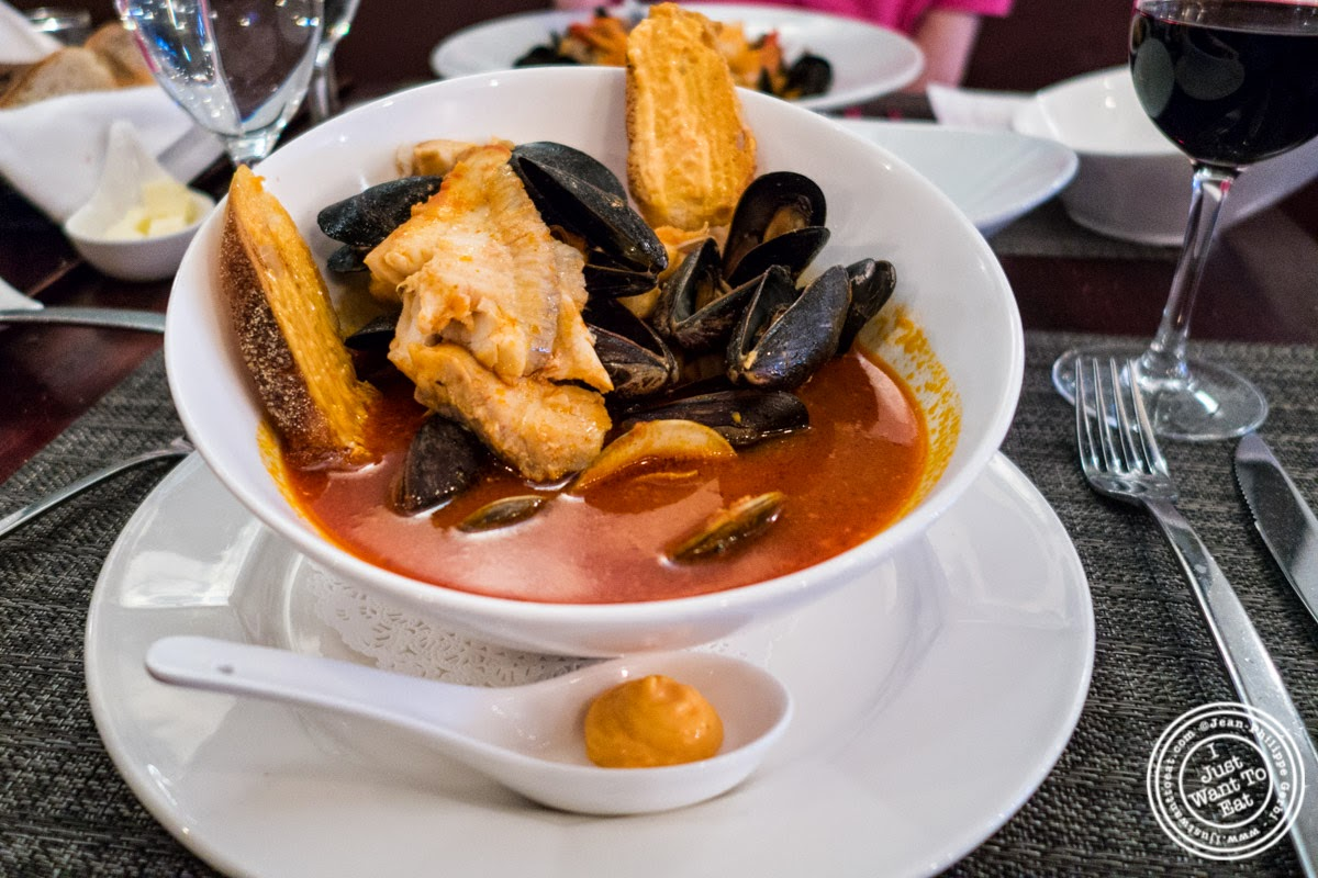 bouillabaisse at Paname, French restaurant in New York, NY