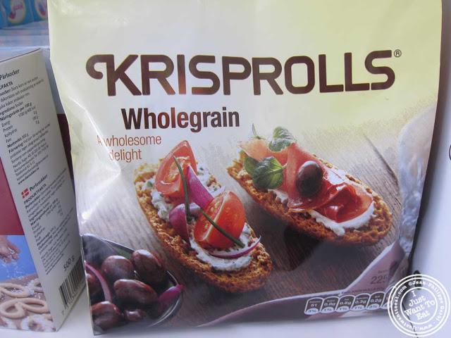 Petits pains Suedois Krisprolls at Sockerbit in NYC, New York