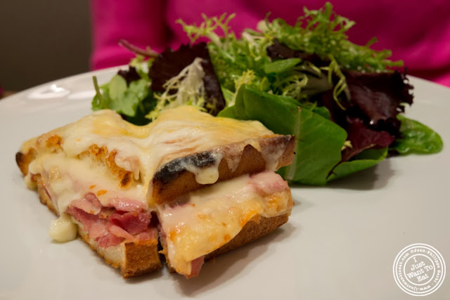 croque monsieur at DB Bistro Modern in NYC, New York
