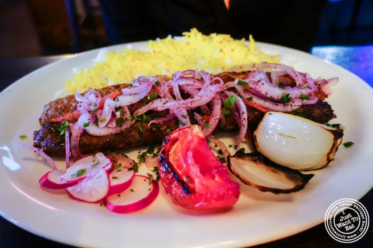 koobideh at Parmys Persian Fusion in NYC, NY