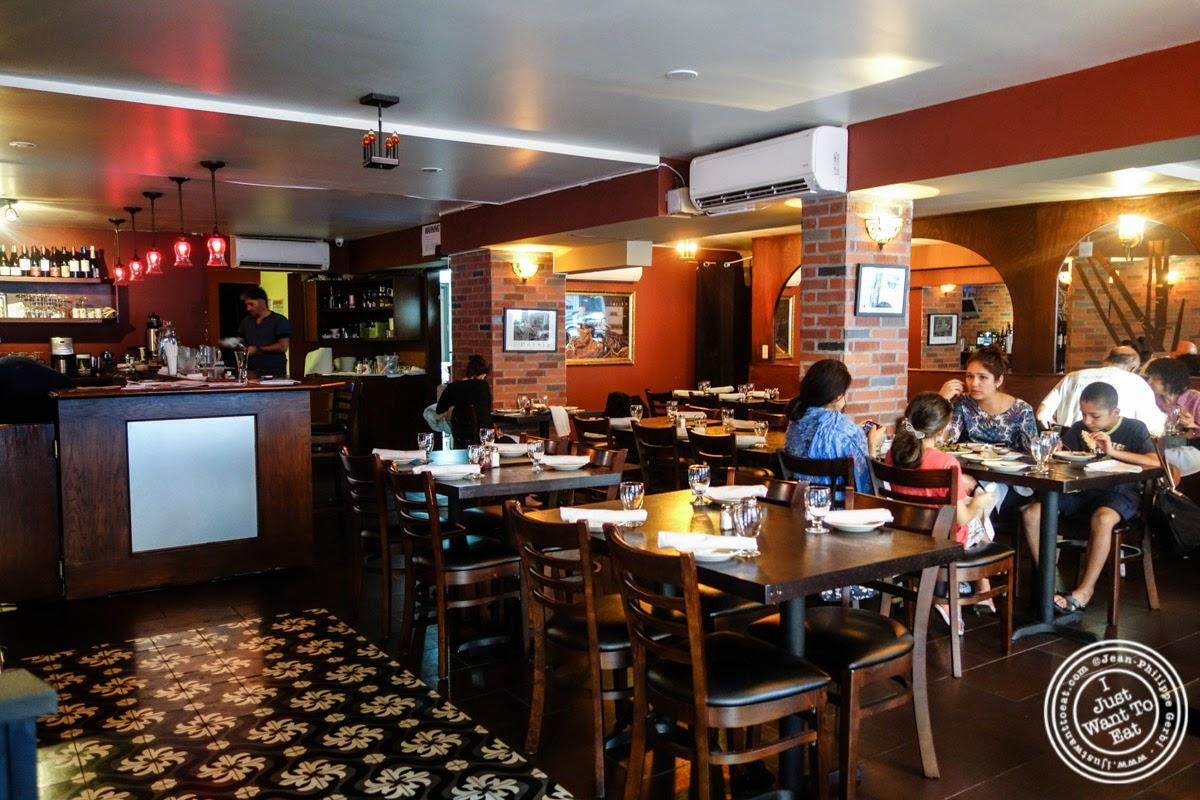 dining room at Parmys Persian Fusion in NYC, NY
