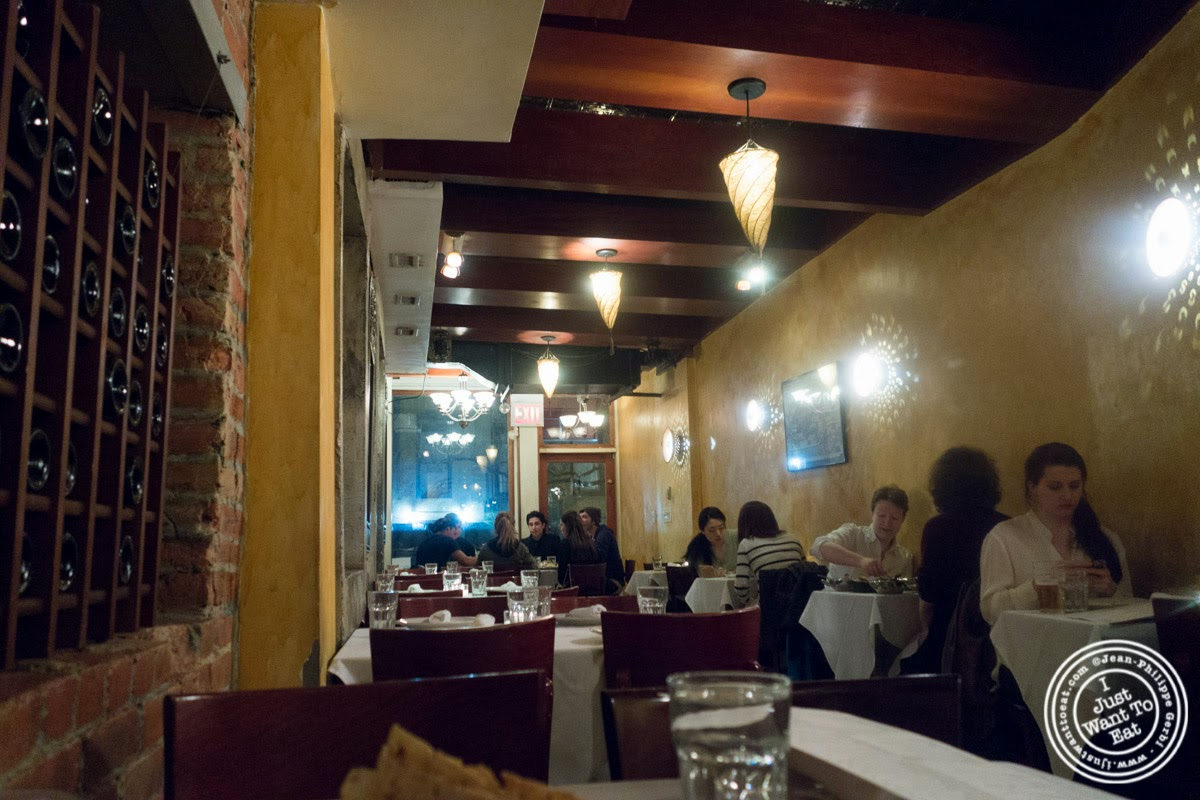 Brick Lane Curry House in the East Village, NYC, New York