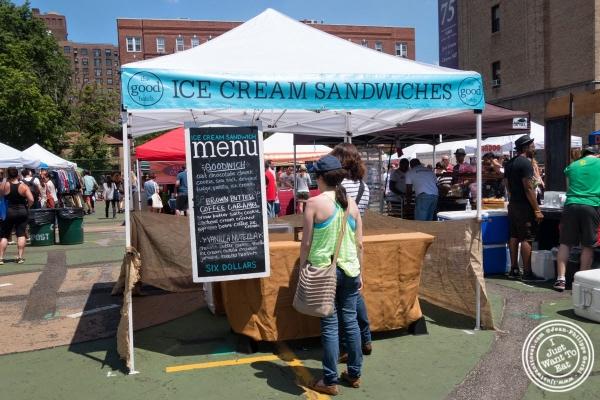 The Good Batch Ice Cream Sandwich at Smorgasburg in Brooklyn, NY