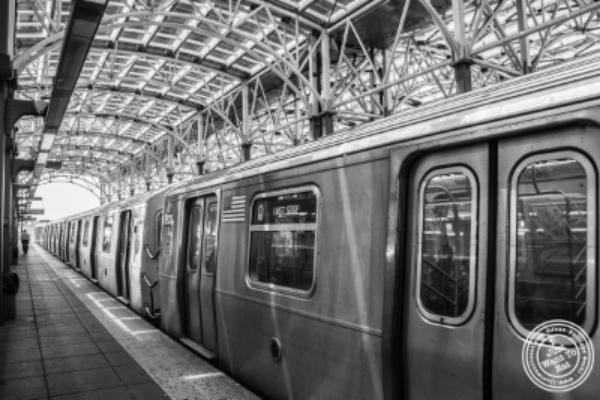 train to Coney Island Luna Park in Brooklyn, NY