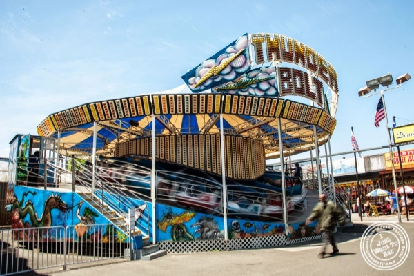 Coney Island Luna Park in Brooklyn, NY