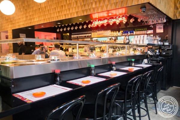dining room at Taka Taka in New York, NY