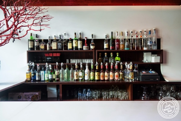 bar at Don Coqui, Puerto Rican restaurant in Astoria, NY