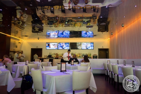 dining room at Don Coqui, Puerto Rican restaurant in Astoria, NY