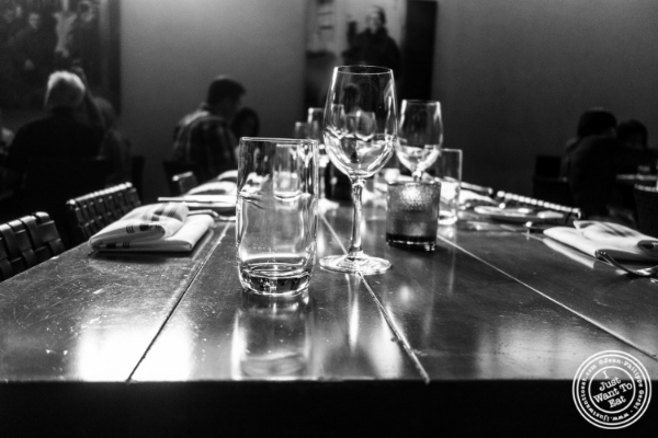Dining room at David Burke's Kitchen in New York, NY