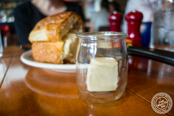 bread and butter at David Burke's Kitchen in New York, NY