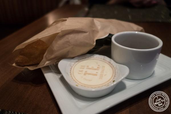 Bread at Ça Va Todd English in New York, NY
