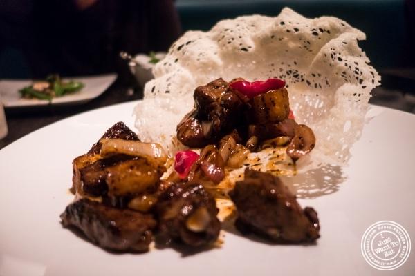 Ribeye steak atBuddakan in New York, NY