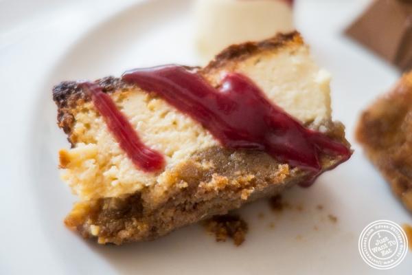 Italian cheesecake atBecco in New York, NY