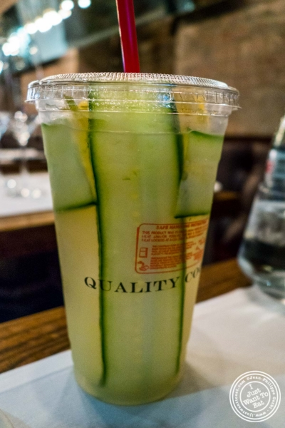 Lemonade atQuality Meats Steakhouse, New York, NY