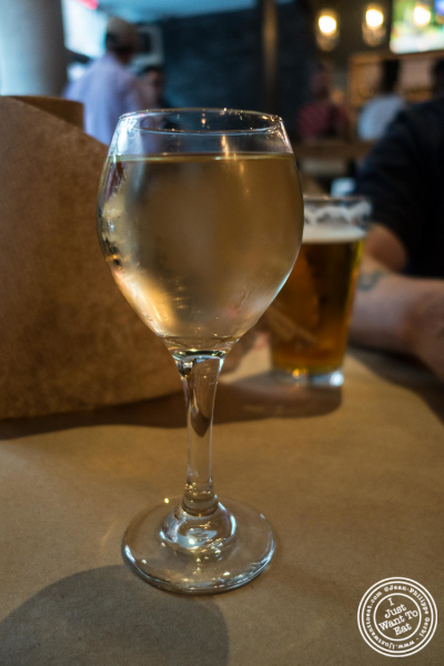 Dry Riesling at Claw Daddy's in New York, NY