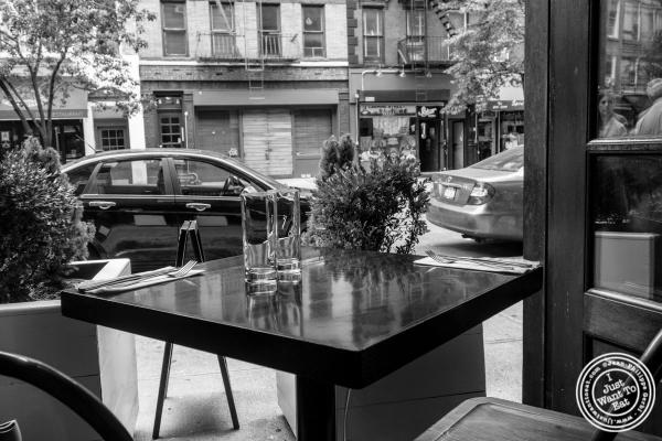 dining room at Café Blossom on Carmine, New York, NY