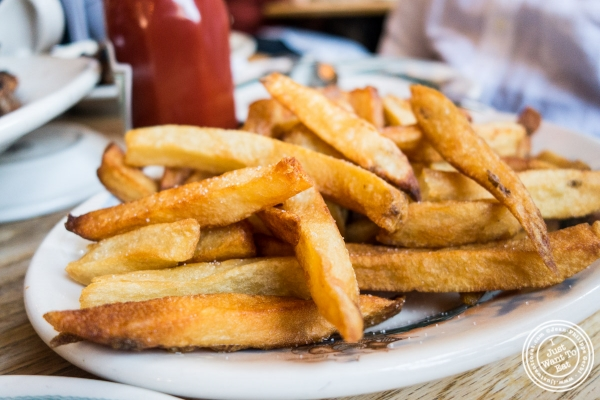 French fries at Peter Luger Steakhouse in Brooklyn, NY