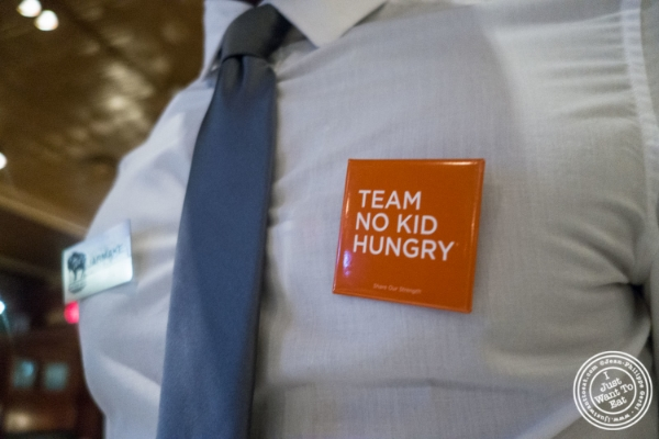 No Kid Hungry campaign at Ted's Montana Grill in New York, NY