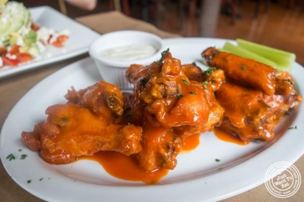 Buffalo wings atMaxwell's Tavern in Hoboken, NJ