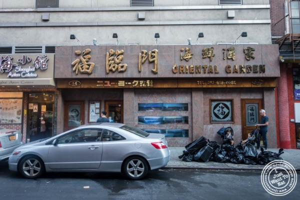 Oriental Garden in Chinatown - New York, NY