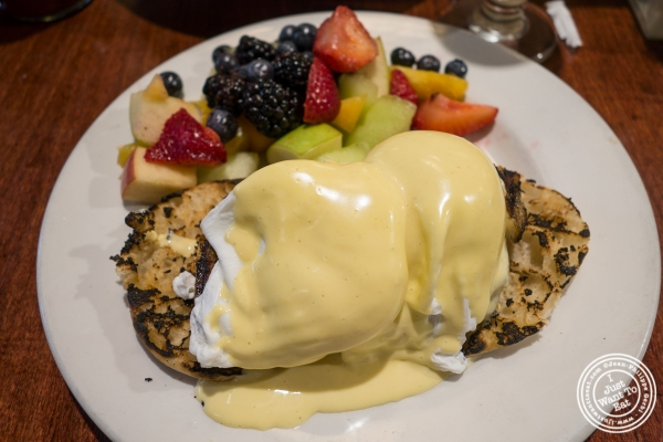 Eggs benedict atThe Cupping Room Cafe in New York, NY
