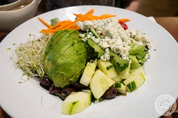 Cobb salad atThe Cupping Room Cafe in New York, NY