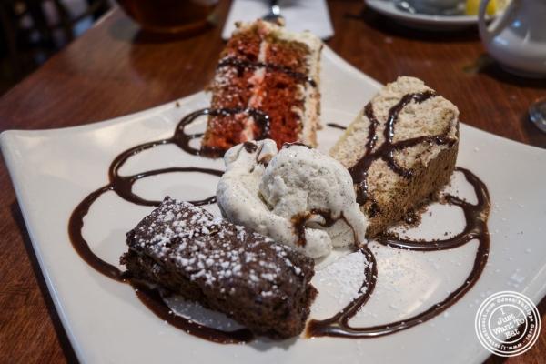 Dessert sampler atThe Cupping Room Cafe in New York, NY