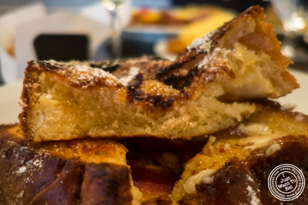 Creme brûlée French toast atThalia in New York, NY