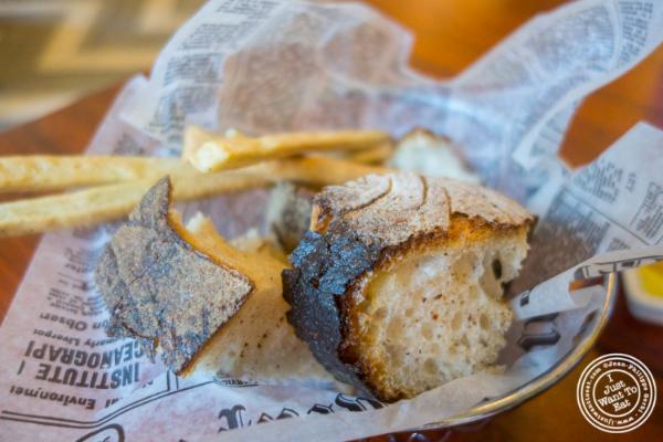 Bread basket atTorino, Italian Restaurant in New York, NY