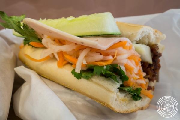 Banh Mi Nem Nuong atBanh Mi Saigon Bakery in New York, NY