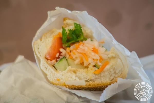 Banh Mi Do Chay atBanh Mi Saigon Bakery in New York, NY