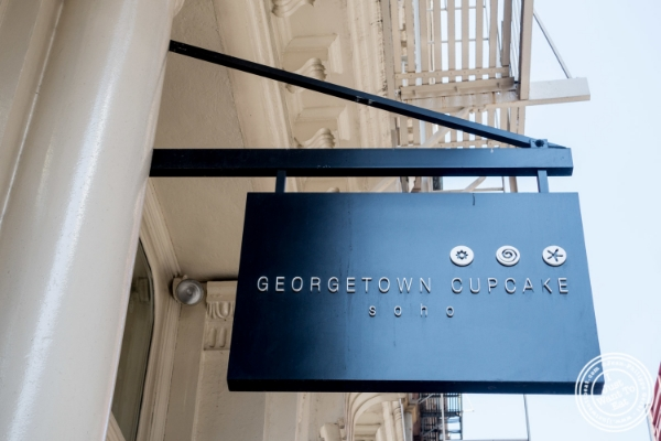 Georgetown cupcake in Soho, New York, NY